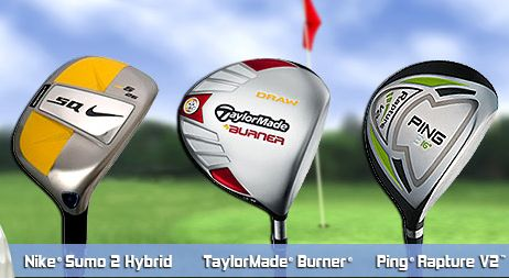 Which Golf Clubs Do You Prefer - Nike® Sumo 2 Hybrid, TaylorMade® Burner® or Ping® Rapture V2(TM)